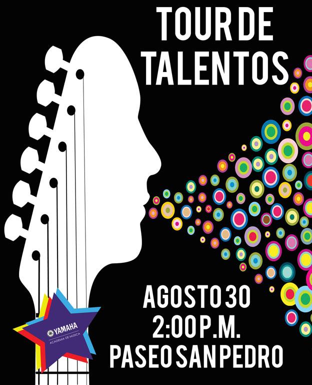 Poster Tour de Talentos Paseo San Pedro