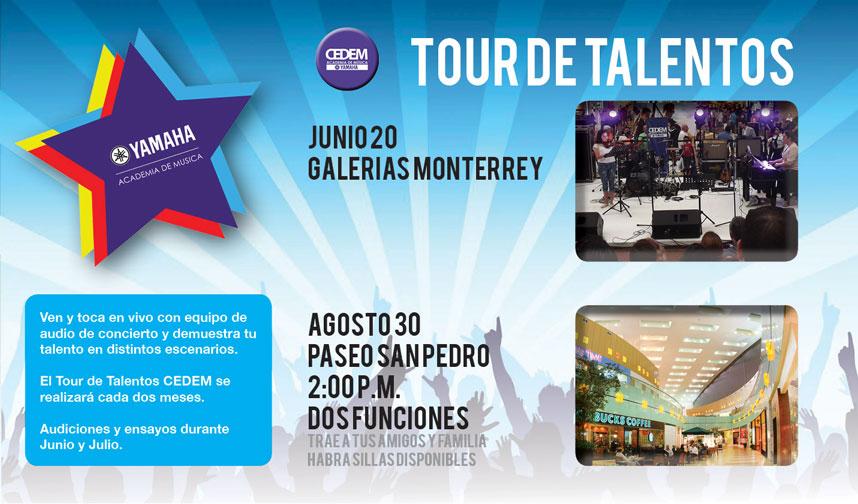 Tour de Talentos CEDEM Agosto 2015 Paseo San Pedro